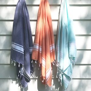 Set of 3 * Turkish Cotton Beach towel
